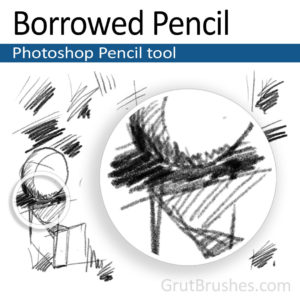 Borrowed Pencil - Photoshop Pencil Tool