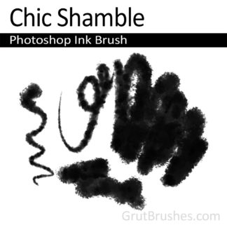 Chic Shamble - Photoshop Ink Brush