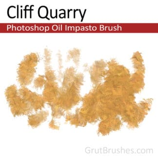 Cliff Quarry - Impasto Oil Photoshop Brush