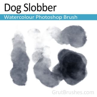 Dog Slobber - Photoshop Watercolor Brush