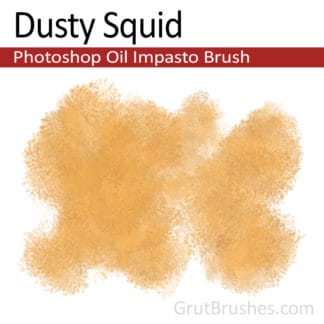 Dusty Squid - Impasto Oil Photoshop Brush