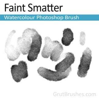Faint Smatter - Photoshop Watercolor Brush