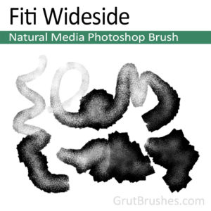 Fiti Wideside - Photoshop Natural Media Brush