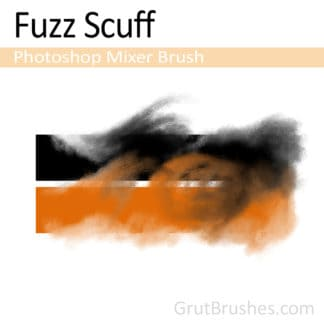 Fuzz Scuff - Photoshop Mixer Brush