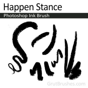 Happen Stance - Photoshop Ink Brush