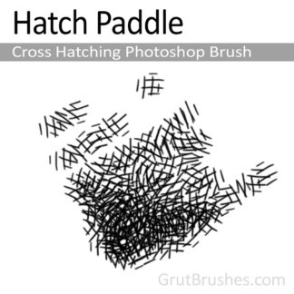 Hatch Paddle - Photoshop Cross Hatching Brush