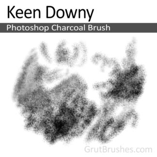 Keen Downy - Photoshop Charcoal Brush