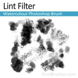 Lint Filter - Photoshop Watercolor Brush