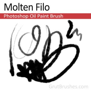 Molten Filo - Photoshop Oil Brush