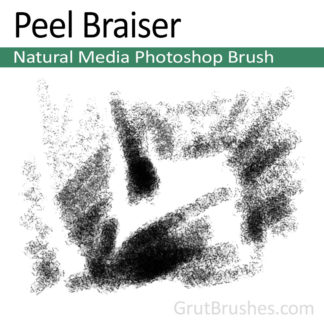 Peel Braiser - Photoshop Charcoal Brush