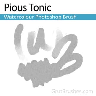 Pious Tonic - Photoshop Watercolor Brush