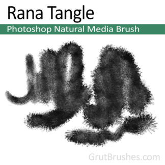 Rana Tangle - Photoshop Natural Media Brush