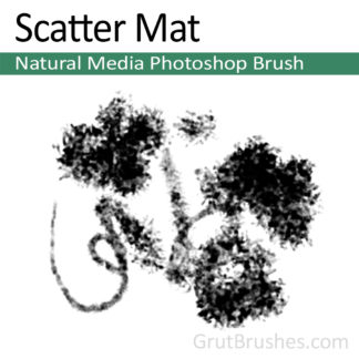 Scatter Mat - Photoshop Natural Media Brush