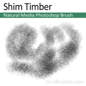 Shim Timber - Photoshop Natural Media Brush