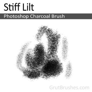 Stiff Lilt - Photoshop Charcoal Brush