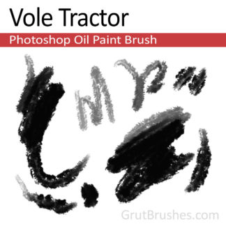 Vole Tractor - Photoshop Oil Brush