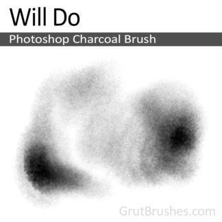 Will Do - Photoshop Charcoal Brush