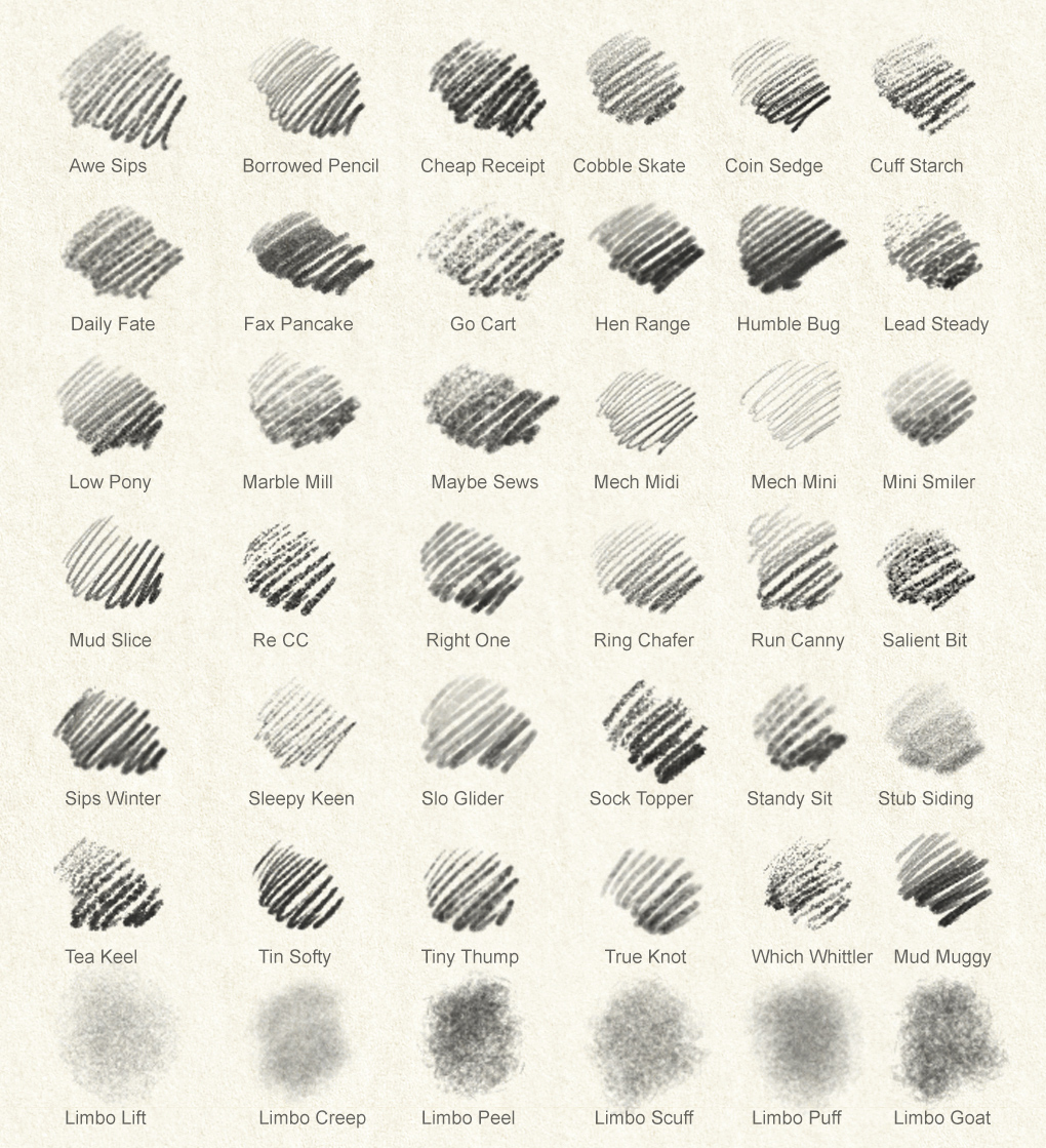 43 Photoshop Pencils