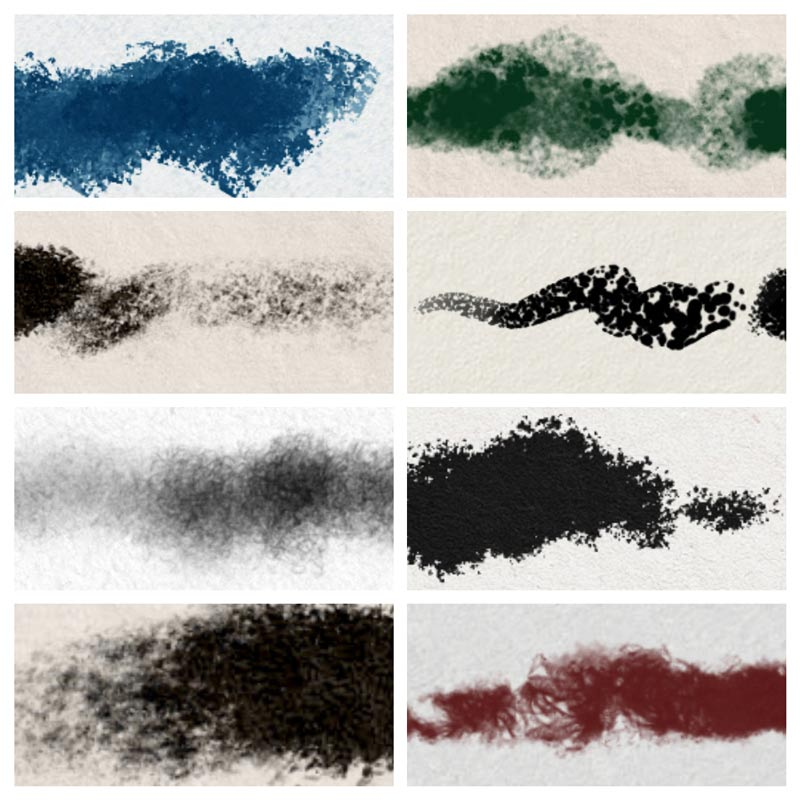8 Procreate Brushes