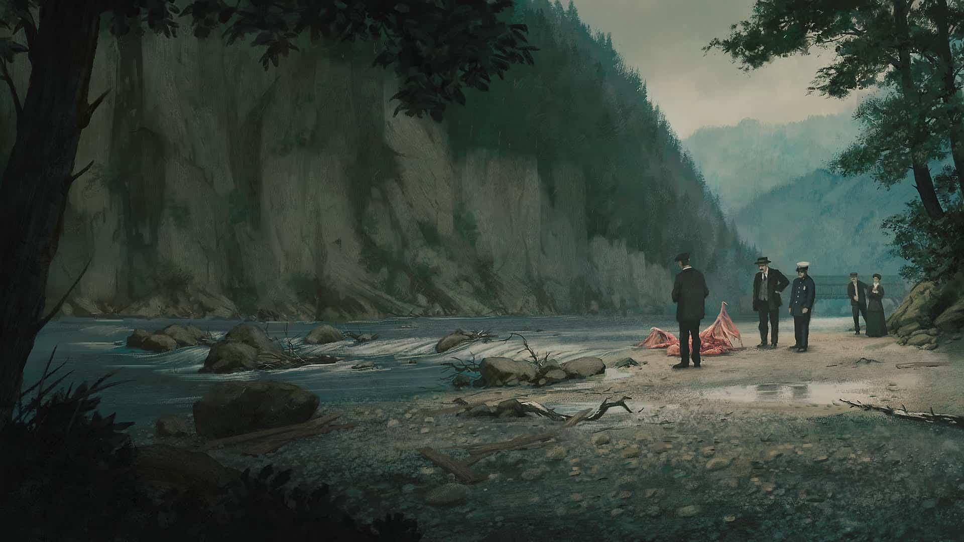 After the Flood - Digital Painting by Valentin Kopetzki