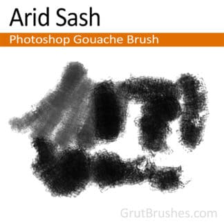 Arid Sash - Photoshop Gouache Brush
