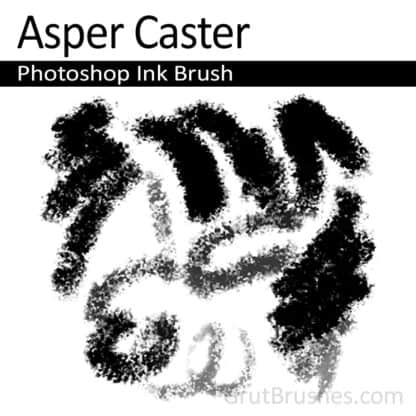 Asper Caster - Photoshop Ink Brush