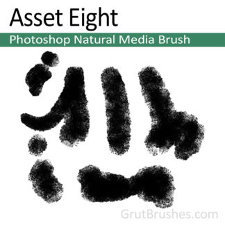Asset Eight - Photoshop Natural Media Brush