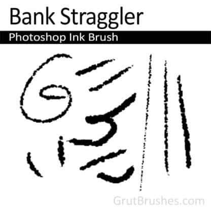 Bank Straggler - Photoshop Ink Brush