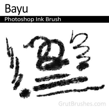 Photoshop Ink Brush for digital artists 'Bayu'