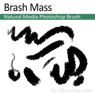 Brash Mass - Photoshop Natural Media Brush
