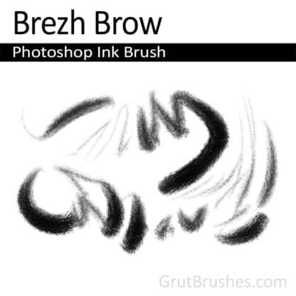Brezh Brow - Photoshop Ink Brush