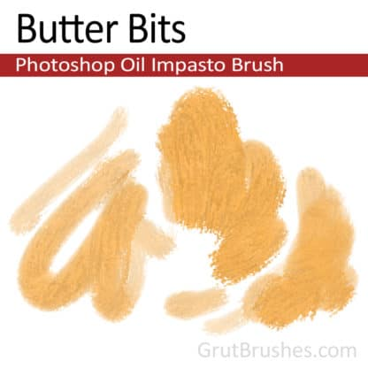 Butter Bits - Free Photoshop Impasto Oil Brush