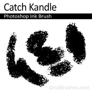 Photoshop Ink Brush for digital artists 'Catch Kandle'