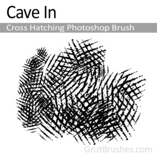 Cave In - Photoshop Cross Hatching Brush