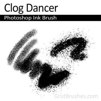 Photoshop Ink for digital artists 'Clog Dancer'