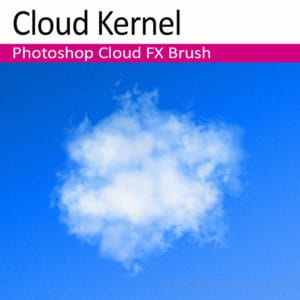 'Cloud Kernel' Photoshop Cloud Brush