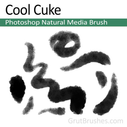 Photoshop Natural Media for digital artists 'Cool Cuke'