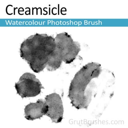 Creamsicle - Photoshop Watercolor Brush