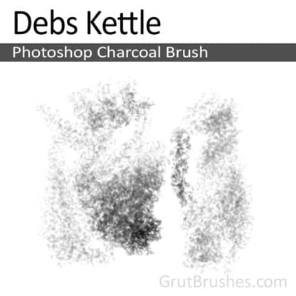 Debs Kettle - Photoshop Charcoal Brush