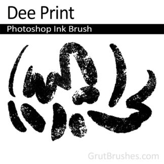 Dee Print - Photoshop Ink Brush