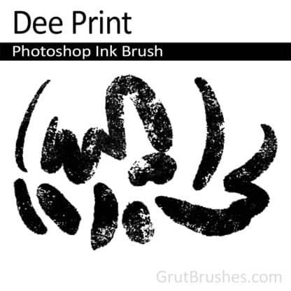 Dee Print - Photoshop Ink Brush