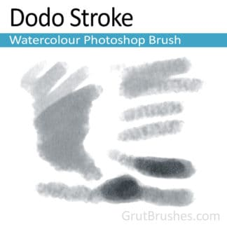 Dodo Stroke - Photoshop Watercolor Brush