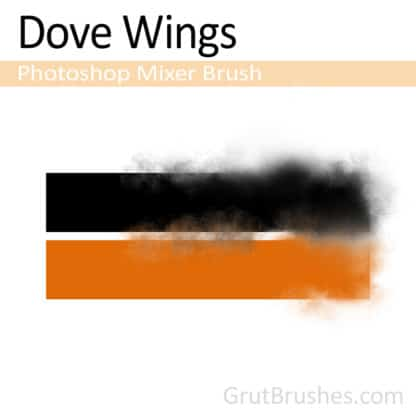 Dove Wings - Photoshop Mixer Brush
