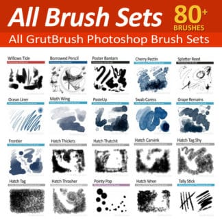 All the Photoshop Brush Sets