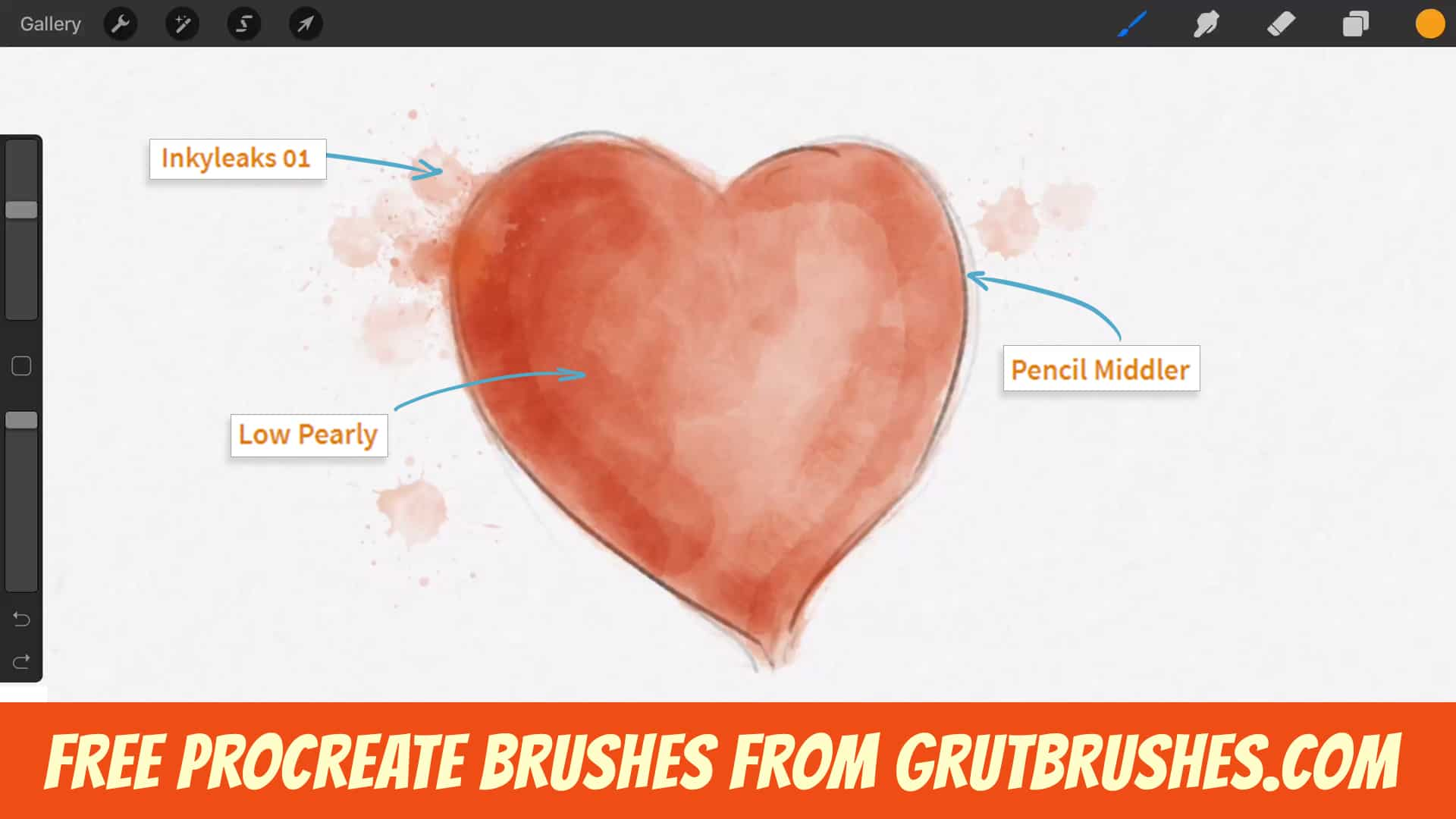 Free Procreate Brushes - GrutBrushes com