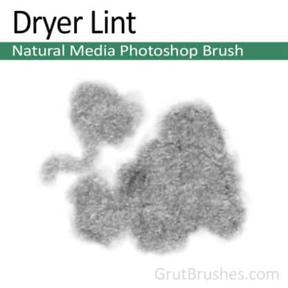 Dryer Lint - Photoshop Natural Media Brush