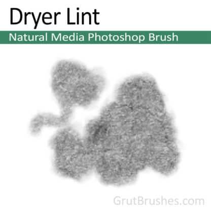 Dryer Lint - Photoshop Natural Media Brush