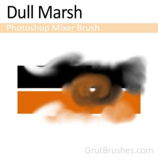 Dull Marsh - Photoshop Mixer Brush