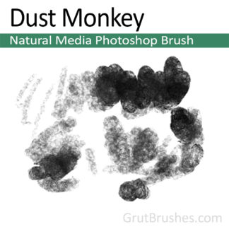Dust Monkey - Photoshop Natural Media Brush