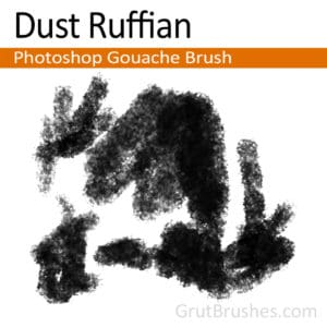 Dust Ruffian - Photoshop Gouache Brush
